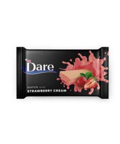 ETI Dare - Napolitane cu crema de capsune 142g
