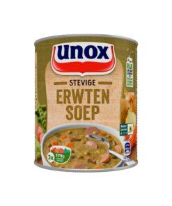 Supa de mazare cu crenvurști Unox Olanda 800 ml