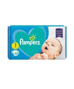 Scutece Pampers Active Baby Nr 1 - 43 buc