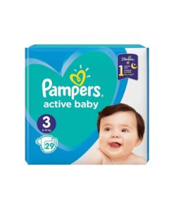 Scutece Pampers Active Baby Nr 3 - 29 buc