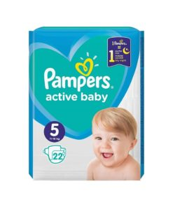 Scutece Pampers Active Baby Nr. 5 - 22 bucati