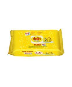 Servetele umede pentru bebelusi Dalin Soft & Clean 120 buc