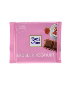 Ritter Sport Ciocolata Capsuni si Iaurt 100 grame
