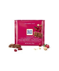 Ritter Sport Ciocolata Merisoare si Alune 100 grame