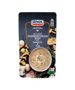 Supa-crema de ciuperci cu pancetta si cimbru Unox Olanda 570 ml