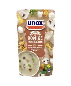 Supa-crema de ciuperci de padure Unox Olanda 570 ml