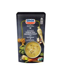 Supa-crema de legume cu pastarnac si galbiori Unox Olanda 570 ml