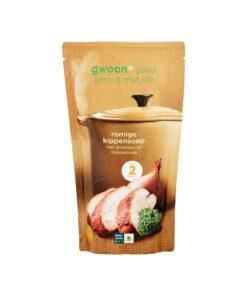 Supa crema de pui cu legume si mascarpone G'woon Olanda 570 ml
