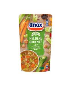 Supa de legume cu chiftelute si telina verde Unox Olanda 570 ml