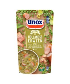 Supa de mazare cu crenvurști Unox Olanda 570 ml