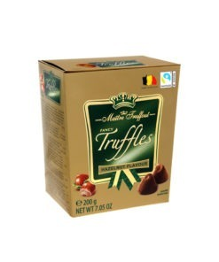 Trufe de ciocolata Gold Alune Maitre Truffout 200g