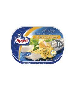 File de hering in crema de mustar si ou Appel 200 g