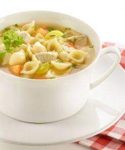 Supa deasa cu cartofi, galuste de carne si capere Dreistern 400 ml