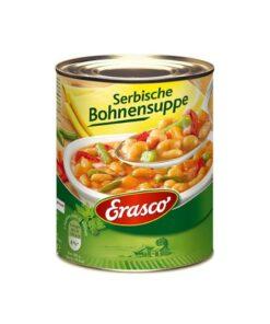 Supa de fasole sarbeasca Erasco 750 ml