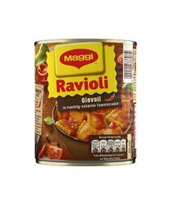 Ravioli Diavoli, cu umplutura de carne, in sos de rosii picant Maggi 800 g