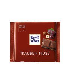 Ritter Sport Ciocolata cu alune de padure, struguri 100 grame