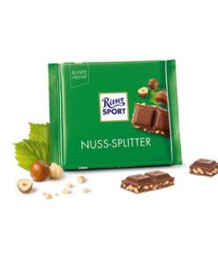 Ritter Sport Ciocolata cu lapte si alune de padure 100 grame