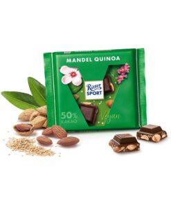 Ritter Sport Ciocolata Vegana cu Migdale si Quinoa 100 grame