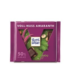 Ritter Sport Ciocolata Vegana Amaranth si Alune 100 grame