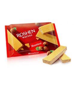 Napolitate Roshen Wafers Hazelnut Alune de Padure 72 g