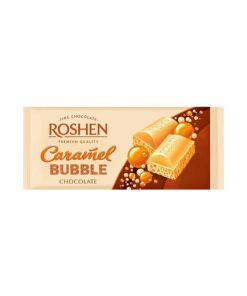 Roshen Caramel Bubble ciocolata cu caramel aerata 80 g
