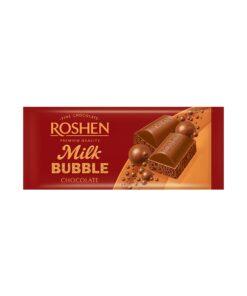 Roshen Milk Bubble Chocolate ciocolata cu lapte aerata 80 g
