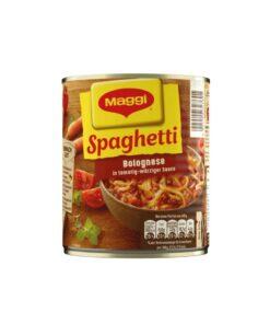 Spaghetti Bolognese in sos tomat si bucatele de carne de vita Maggi 810 g