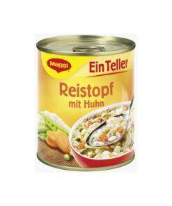 Supa deasa cu orez si legume si pui Maggi 325 ml