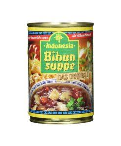 Supa Indonesia cu taietei, legume, ciuperci si pui 390 ml