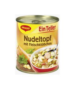 Supa deasa cu paste si chiftelute Maggi 325 ml