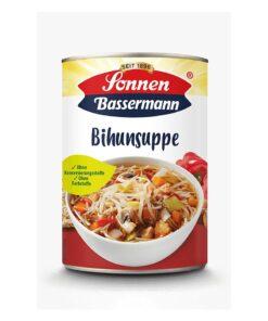 Supa cu taietei, legume, ciuperci si pui Sonnen-Bassermann 400 ml