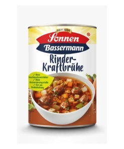 Supa limpede de vita cu legume Sonnen -Bassermann 400 ml