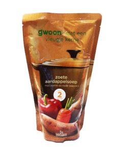 Supa de cartofi dulci cu legume G'woon Olanda 570 ml