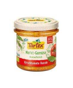 Tartex Bio – Pasta tartinabila rosii cherry cu rucola 135 g