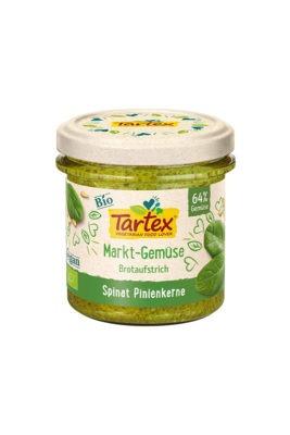 Tartex Bio – Pasta tartinabila de spanac cu seminte de pin 135 g
