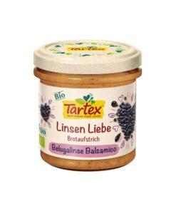 Tartex Bio – Pasta tartinabila cu linte si otet balsamic 140 g