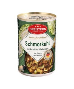 Varza fiarta cu legume si multa carne Dreistern 400g