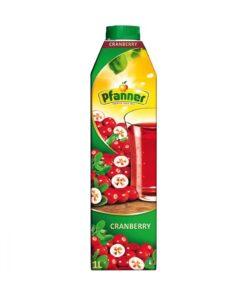 Pfanner Suc de merisoare Cranberry 1 L