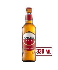 Amstel bere blonda premium 0,33L, sticla