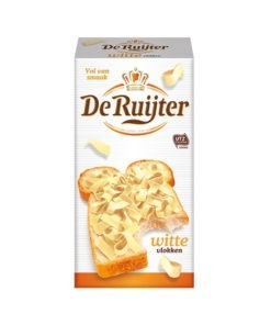 Fulgi de ciocolata alba De Ruijter – Olanda 300g