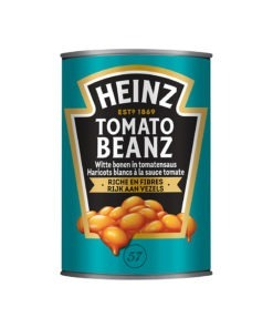 Heinz fasole boabe in sos tomate 415 g