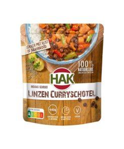 Linte cu curry gata preparata Hak 550 g