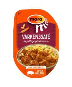 Mora Varkenssaté pittige pindasaus 160 g