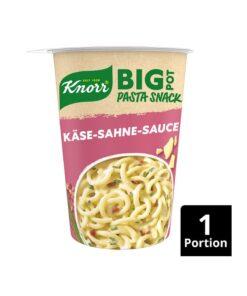 Knorr Pasta Snack Branza si Sos Smantana, 92 g