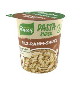 Knorr Pasta Snack, paste in sos de ciuperci si smantana 63 g