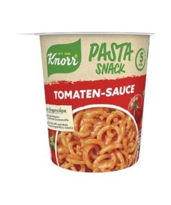 Knorr Pasta Snack spaghete in sos de rosii, 69 g