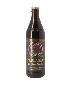 Paulaner Weissbier Dunkel 5,3%, bere nefiltrata 0,5L