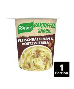 Knorr Snack piure de cartofi, chiftelute si ceapa prajita 53 g