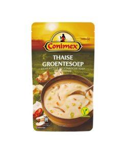 Supa de legume Thaise cu ciuperci Shiitake, Conimex 570 ml