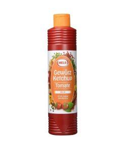 Ketchup tomate cu condimente Hela 800 ml